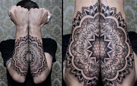 symmetrical tattoos symmetrical by chaim machlev design of