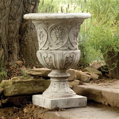 Garden Urns And Planters by Lippie Urn Planter Made Of Durable Lightweight Fiber