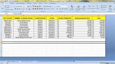 tutorial excel 2010 base de datos base de datos en excel 2010 ejemplos updated 45005128