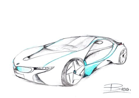 Skizze Auto by Bmw Concept Car Sketch By Vladbucur On Deviantart