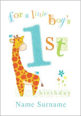 One Year Birthday Quotes Birthday Card Best One Year Old Birthday Card One Year
