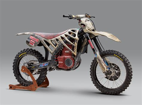 motocross bikes mugen debuts an electric motocross race bike asphalt