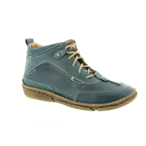 Josef Seibel Nikki Aqua Comfortable Walking Boots Womens