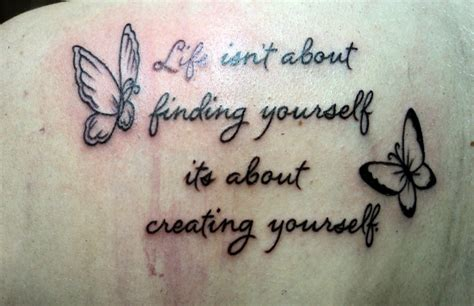 butterfly tattoo with quote butterfly quotes about change quotesgram