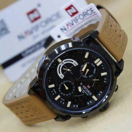 Naviforce Nf9094m Original Kulit Abu Abu Jam Tangan Pria Cowok jam tangan naviforce nf 9068 original 3 pilihan