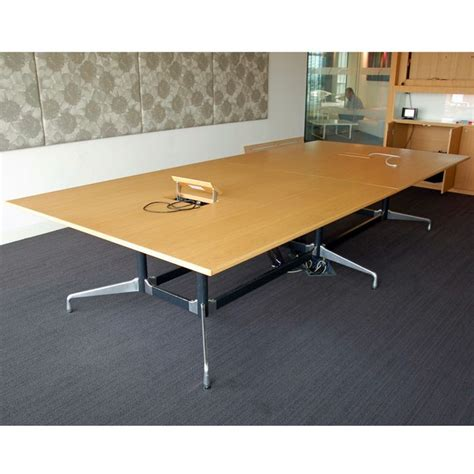 Vitra Meeting Table Original Vitra Eames Boardroom Table 3 5l X 1 6d Meeting Table For Boardroom High End