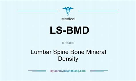 Ls Definition by What Does Ls Bmd Definition Of Ls Bmd Ls Bmd