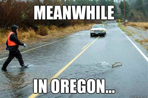 Oregon Memes - meanwhile in oregon memes quickmeme