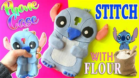stitches diy diy stitch phone with flour eng