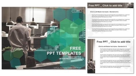 kitchen templates for powerpoint motion chefs of a restaurant kitchen powerpoint templates