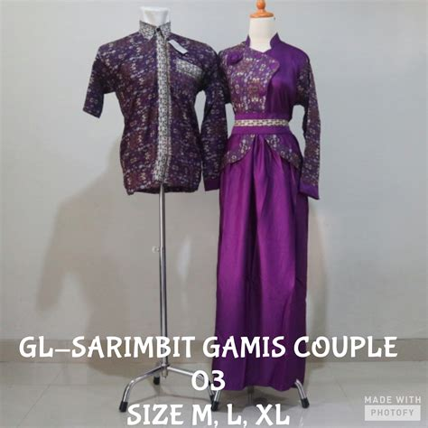 Baju Koko Gamis Sarimbit jual koko longdress batik sarimbit gamis 03 baju lebaran baju koko sarimb gayalo