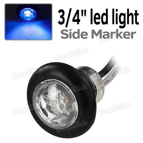 led trailer marker lights 3 4 quot mini blue marker clearance light trailer l