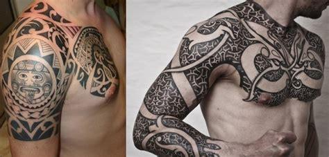 tatuagens maori masculinas