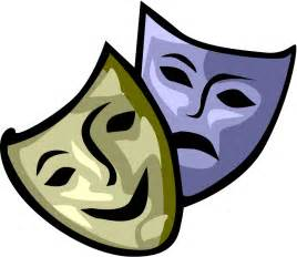 Theatre Mask Outline by Drama Faces Clipart Best