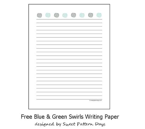 pattern report writing pin by sweet pattern days on stationery printables pinterest