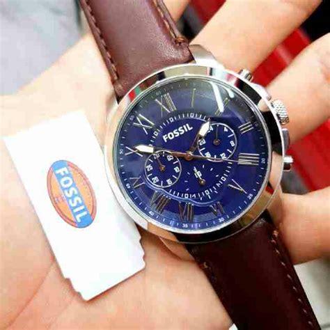 jual jam tangan pria merk fossil ori bm type fs 5130