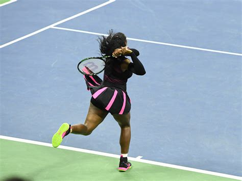 backhand swing serena williams s backhand the new york times
