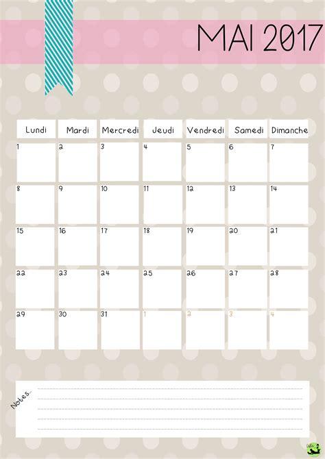 Calendrier Novembre 2017 à Imprimer Calendrier Mai 2017