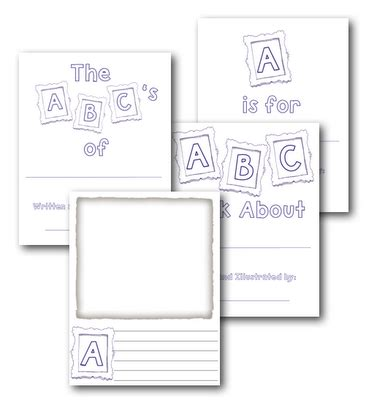 printable alphabet book pdf abc book writing handwriting pinterest alphabet