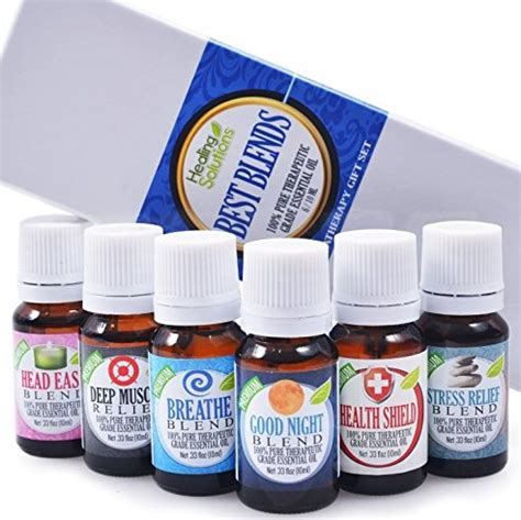 Healing Solutions Ease Blend 2 top 5 best essential oils for 2017 reviews