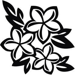 hawaiian flower colour clipart best clipart best