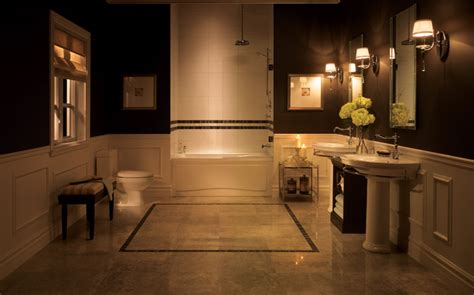 Classic White Bathroom Design And Ideas 23 Traditional Black And White Bathrooms To Inspire Digsdigs