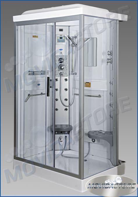 docce complete box cabina doccia idromassaggio bagno rettangolare sauna