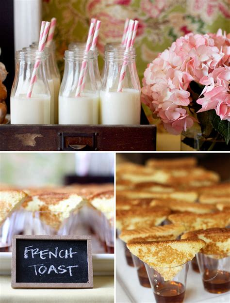 Bridal Shower Brunch Menu by Idea Brunch Menu Inspiration Project Wedding Forums