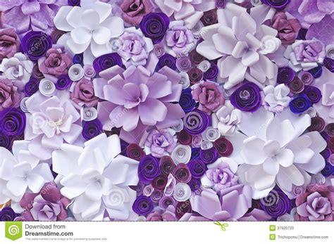 fiori fatti di carta fiori artificiali fatti di carta fotografie stock