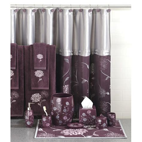 Purple And Grey Bathroom Accessories Grey And Purple Bathroom Ideas Home Inspirations