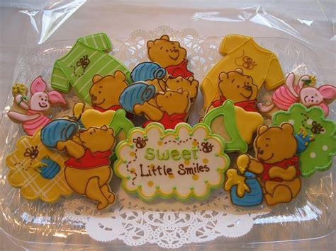 Winnie The Pooh Cookies winnie the pooh baby shower cookies cookies and cakes