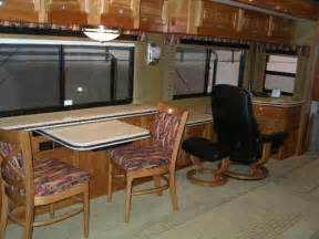 Rv Kitchen Table Rv Mod One Of A Rv Dinette Table And Space Saving