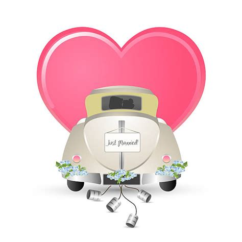 Just Married Auto Grafik by Just Married Car Clip Vector Images Illustrations