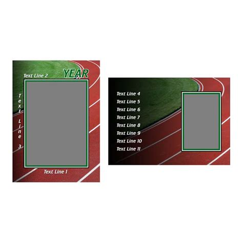 field card template track field product templates h h color lab