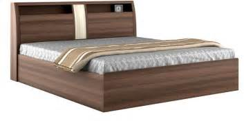 furniture size bed made from solid wood and available in a modular design