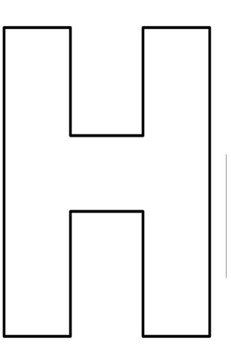 plantillas de letras grandes para imprimir imagui lzk gallery moldes letras h 676x1024 png 676 215 1024 letras