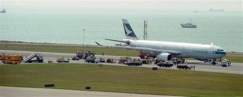 Lu Emergency Surabaya the airsafe news cathay pacific a330 has call