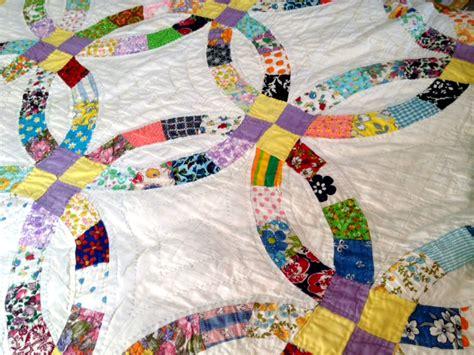great s stitched vintage quilt mellie blossom