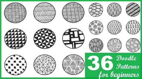 doodle patterns youtube easy doodling designs home design ideas