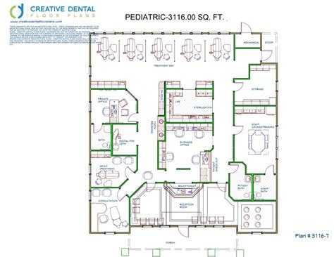 Designing Floor Plans Creative Dental Floor Plans Pediatric Floor Plans
