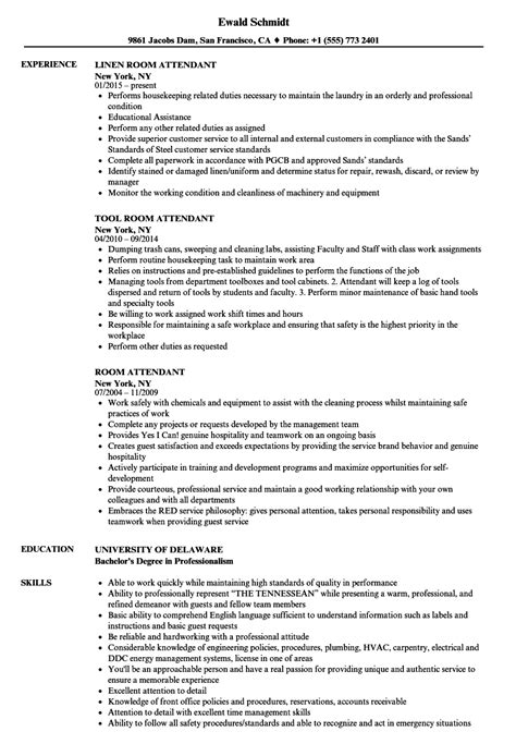 free sle resume for room attendant cart pusher resume the best cart