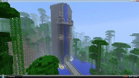 100 Floors Level 64 Tower by Minecraft Tower Defence Pvp Map Minecraft Project