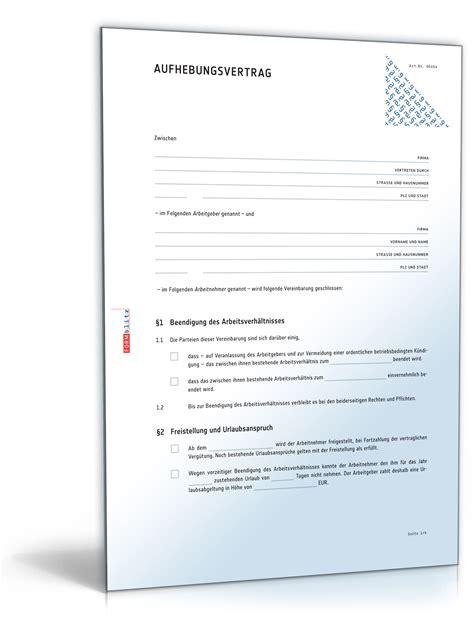 Schreiben Aufhebungsvertrag Muster Muster Aufhebungsvertrag Arbeitnehmer Yournjwebmaster
