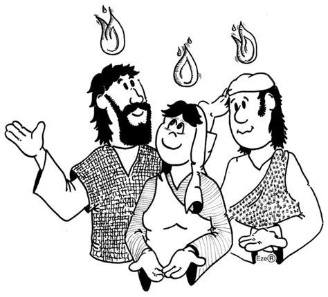 dibujos para colorear de la parranda de san pedro especial de pentecostes dibujos de pentecost 233 s