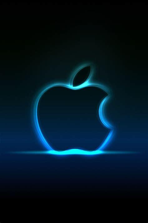 apple zeichen wallpaper ne 243 n azul de apple iphone fondos de pantalla 640x960
