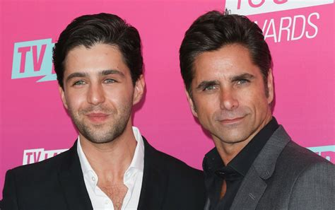 josh peck and john stamos john stamos attended his ex tv son s wedding this weekend