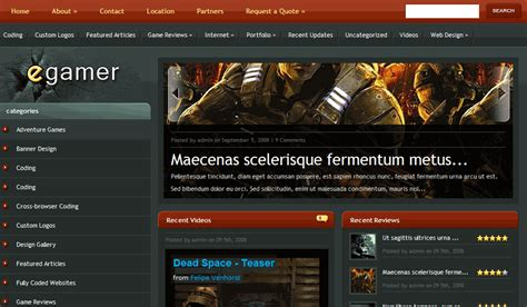 wordpress blog themes gaming 10 best wordpress themes for gamers gaming wordpress themes