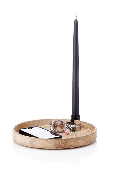 Kerzenhalter Tablett by Applicata Tablett Mit Kerzenhalter Eiche Schwarz