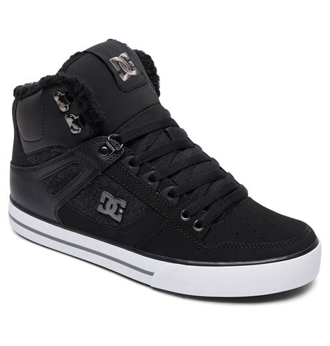 mens high top house slippers men s spartan high wc wnt high top shoes adys400005 dc shoes
