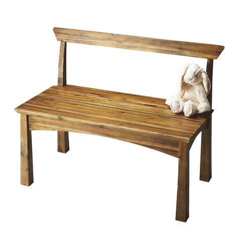 natural wood bench shop butler specialty butler loft natural wood indoor